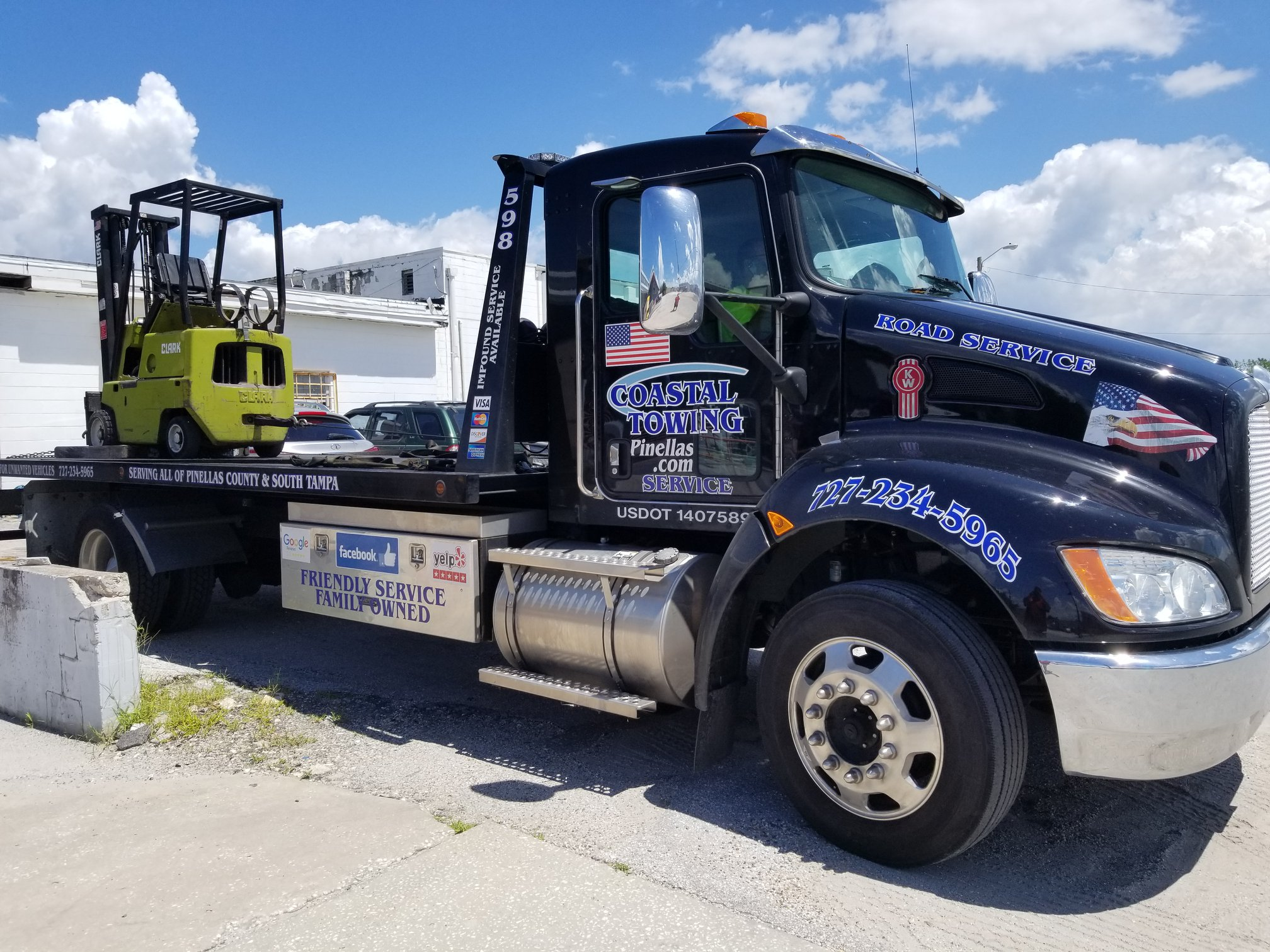 clearwater towing